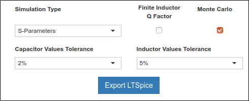 LTSpice Export Settings